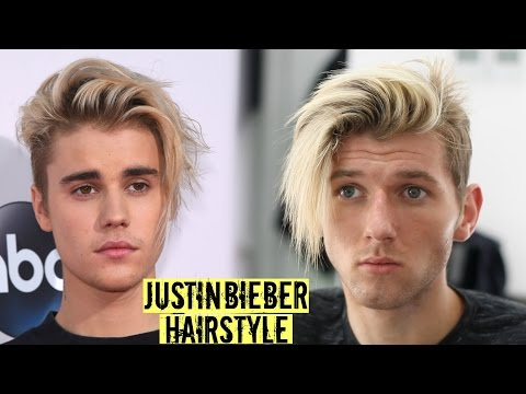 Justin Bieber Hairstyle & Haircut Tutorial 2017 - Mens Long Hair Style
