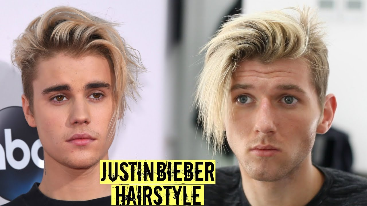 Justin Bieber Hairstyle & Haircut Tutorial 2019 - Mens Long Hair Style