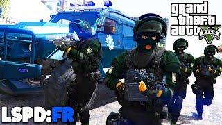 GTA 5 LSPD:FR - Gepanzertes SEK / SWAT Fahrzeug! - Deutsch - Polizei Mod #59 Grand Theft Auto V