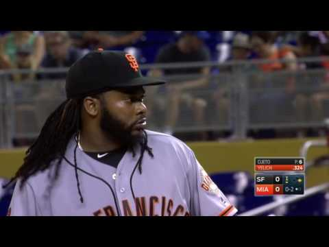 August 08, 2016-San Francisco Giants vs. Miami Marlins