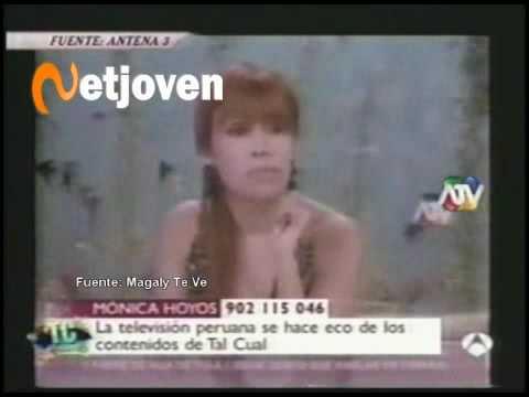 Magaly Medina le dice a Antena 3 que el caso Mónica Hoyos ya cerrado (21 Agosto 2009)