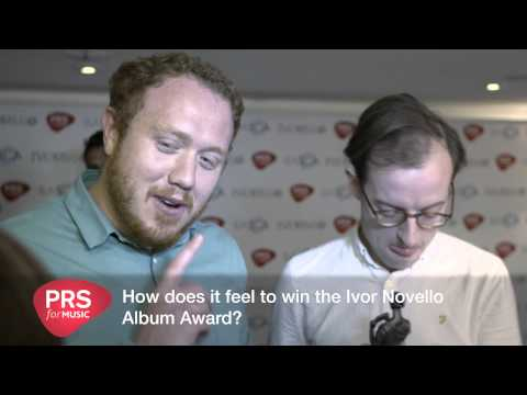 Bombay Bicycle Club interview at the Ivors 2015