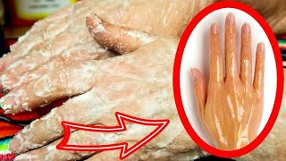 Супер способ сделать руки молодыми и ухоженными Уход за руками В домашних условиях рецепт масок