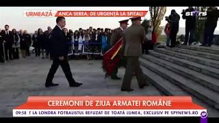 25 Octombrie, ziua Armatei Române. Ceremonii militare și depuneri de coroane, în toată țara