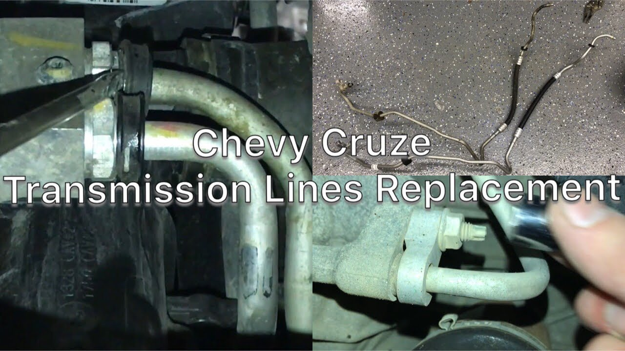 Chevy Cruze Transmission Line Replacement 11 15 Youtube