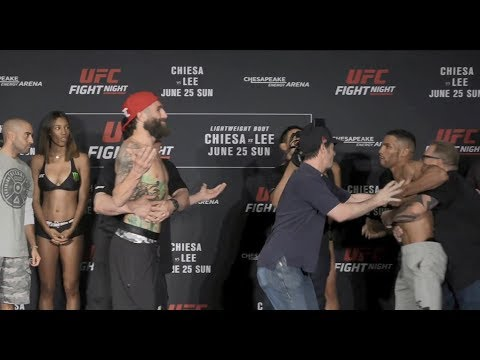 Fight Night Oklahoma City: Weigh-in Faceoffs