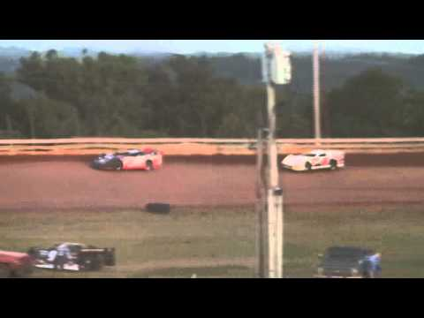 STARS MDRL Late Models / Bluegrass Speedway / Heat #2 8-6-11