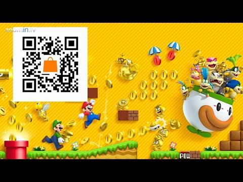 3ds eshop free games qr codes