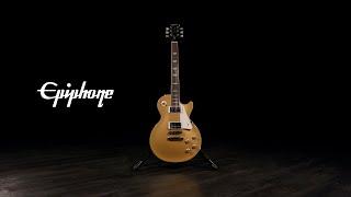 Epiphone Les Paul Standard 50s, Metallic Gold   Gear4music demo