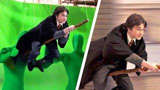 Голливудские фильмы До и После спецэффектов