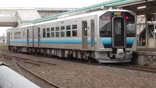 JR五能線 深浦行き ※悪天候のため鰺ケ沢止まり【GV-E400系・2826D】 2021.05.17
