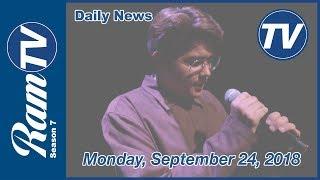 Ramona Daily News - September 24, 2018