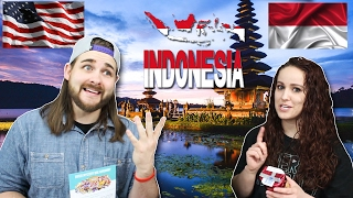 Americans Taste Test Indonesian Snacks