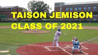 TAISON JEMISON CLASS OF 2021 HIGHLIGHTS CRUSADERS BASEBALL CLUB