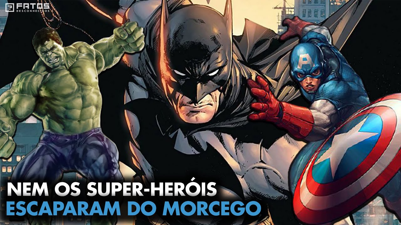 Super-heróis poderosos que o Batman venceu