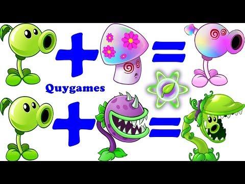 Plants Vs Zombies 2: Peashooter Pvz2+Chomper Pvz2= Snap Pea Pvz2