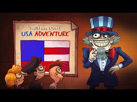 """Игра """"Троллфейс Квест: США 1"""" (Troll Face Quest: USA 1) - прохождение"""
