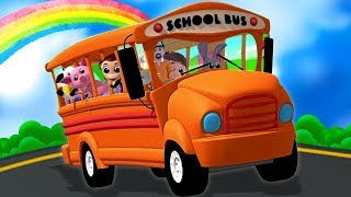 Roda Di Bus | Bis Lagu Untuk Anak Anak | Lagu Anak | Wheels On The Bus | Luke And Lily Indonesia