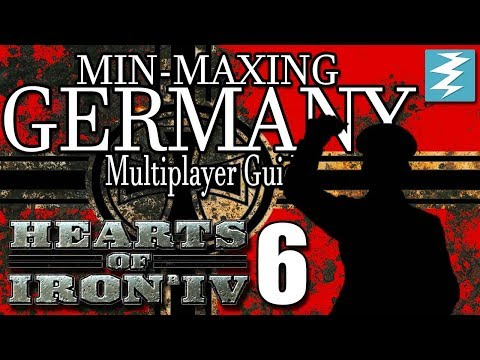 HOW TO BUILD THE ATLANTIC WALL [6] MULTIPLAYER GERMANY - Hearts of Iron IV HOI4 Paradox Interactive