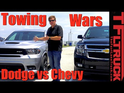 Muscle vs Brawn: Can the 475 HP Durango SRT Out Tow the Tahoe?