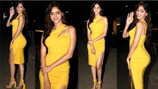Ananya Pandey TIGHT Look At Pati Patni Aur Woh Movie Promotion