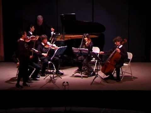 Concerto in D Major, Opus 21 by Chausson, 11/6/08, The Crowden School
