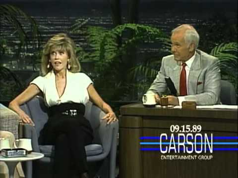 Jane Fonda Asks Johnny Carson About Zsa Zsa Gabor on Johnny Carsons Tonight Show