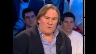 Gerard Depardieu & Nathalie Baye - On n'est pas couché 24 février 2007 #ONPC