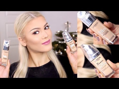 First Impression |  L'oréal True Match Foundation NEW VS. OLD FORMULA
