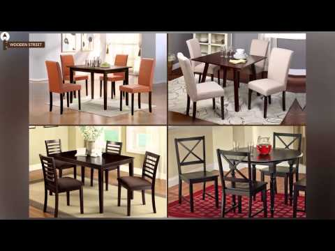 Dining Table Sets - 4 Seater Dining Table Set Online @ Wooden Street