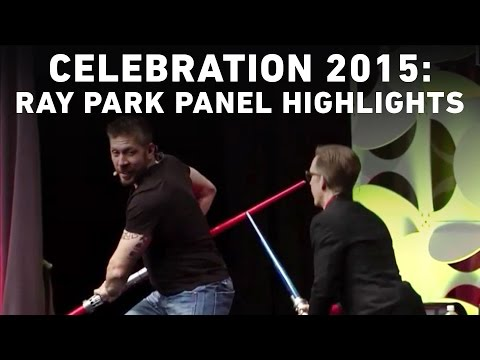 Ray Park Panel Highlights  Star Wars Celebration Anaheim