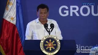 Duterte: China never asked for anything in exchange for aid to PH
