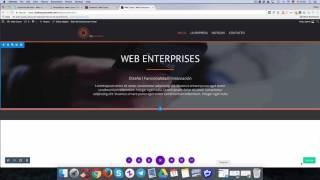 Diseño de una home page con Divi