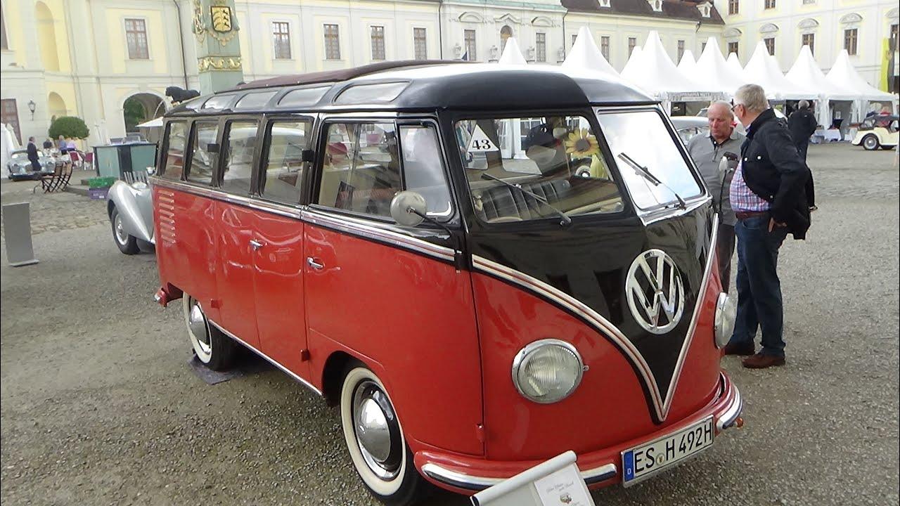1953 volkswagen t1 samba exterior and interior retro classics meets barock ludwigsburg 2016. Black Bedroom Furniture Sets. Home Design Ideas