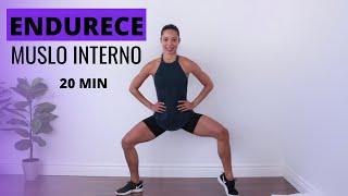Ejercicios para endurecer muslo Interno | Ejercicios para entrepiernas en casa | Fitness by Vivi