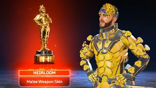 I FINALLY GOT THE SHINY MIRAGE HEIRLOOM BOIS in Apex Legends