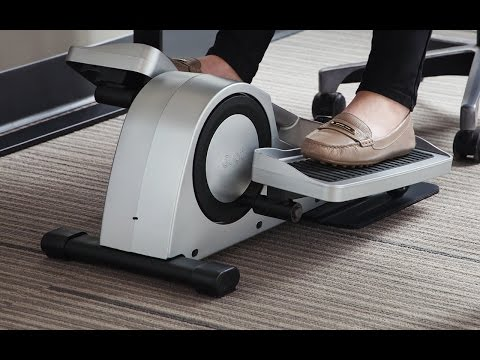 Pedal your way through meetings.
