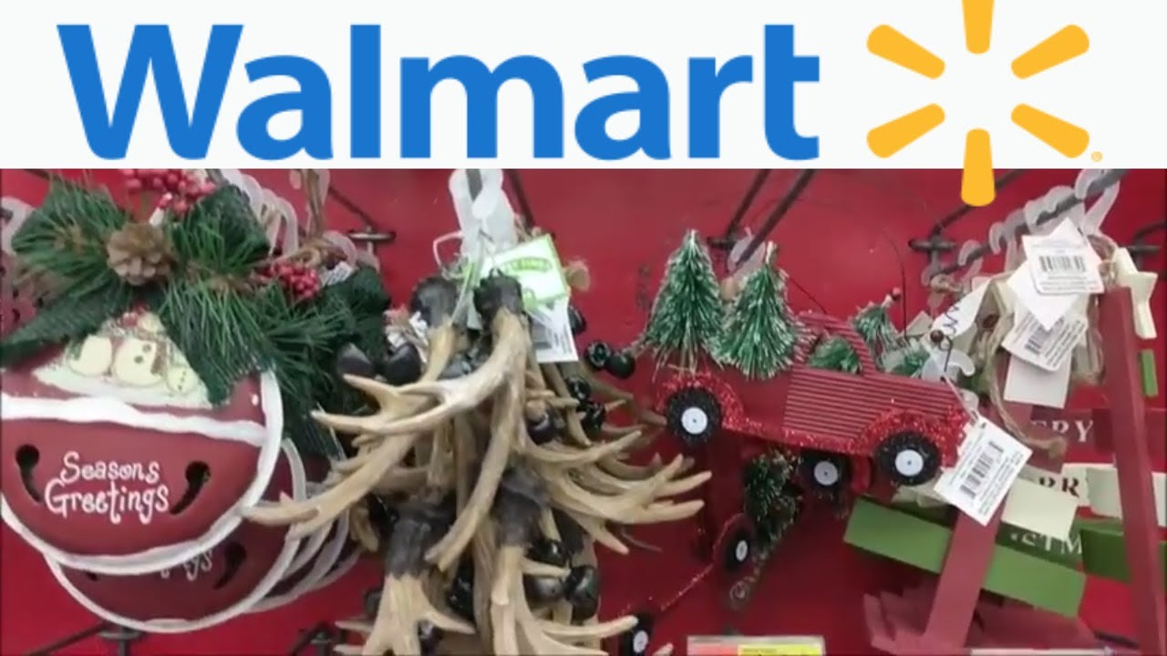 walmart christmas 2017 shop with meornaments