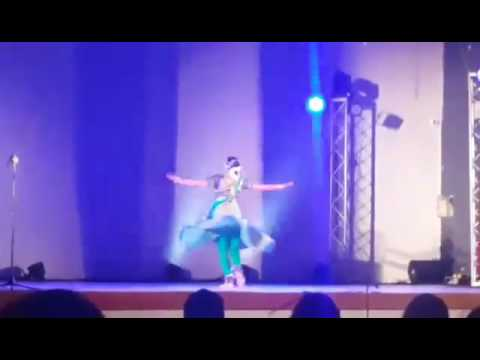 Clip of Kathak artist's performance in Santo Domingo