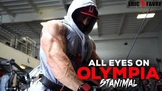 Stanimal & Shawn Rhoden Train 10 Days Out From Olympia 2018 | All Eyes On Olympia