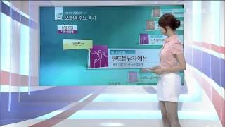 Sbs아나운서 김민지 방송 중 팬티민망 노출