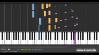 How to play Total Recall Piano Screen