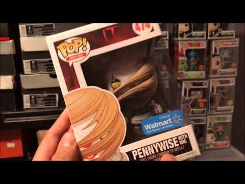 FUNKO POP HUNTING FOR PENNYWISE & STAR WARS MOVIE MOMENTS COLLECTION