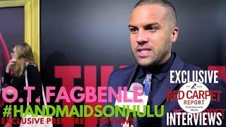 O.T. Fagbenle interviewed at Hulu's The Handmaid's Tale LA premiere #NowStreaming #HandmaidsOnHulu