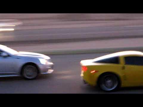 09 Cadillac CTS-V VS Corvette ZO6  ( In...