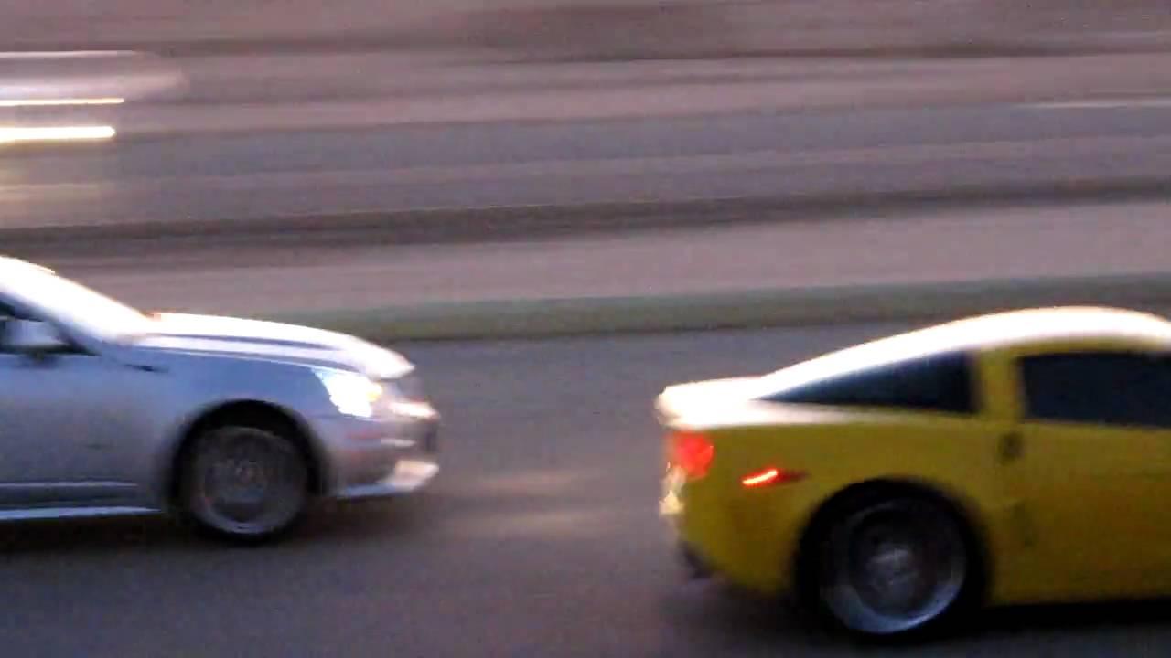 09 Cadillac Cts V Vs Corvette Zo6 In Ksa