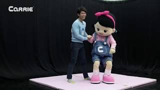 흔들흔들~ 캐빈과 꼬마캐리의 유연성은?! 커플요가 게임 도전 l 캐리앤 플레이