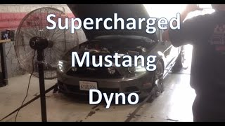 2013 Mustang 5.0 Gt Paxton Supercharger Dyno