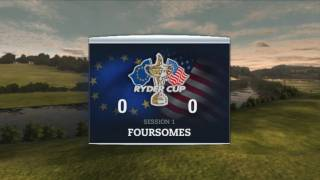 Tiger Woods 2011 Ryder Cup Gameplay XBOX 360 DEMO!! 1080p HD