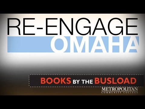 Re-Engage Omaha: Books by the Busload